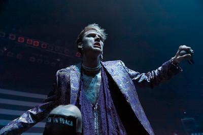 Machine Gun Kelly live at Fillmore Detroit on 11-17-16.  Photo credit: Ken Settle