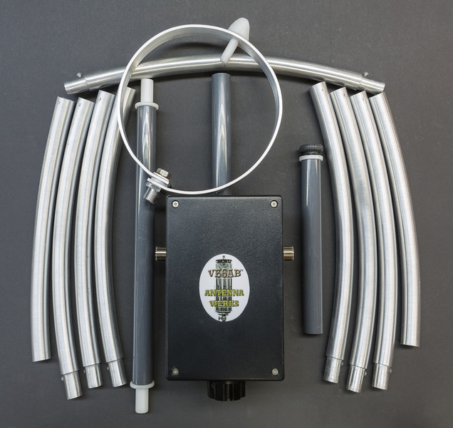 10-40 Meter Takedown Magnetic Loop Antenna