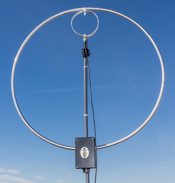 Takedown Magnetic Loop Antenna