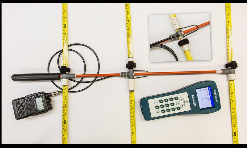 Ultralight Tape Measure Yagi