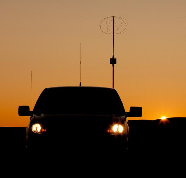 F150 ham Radio Mobile