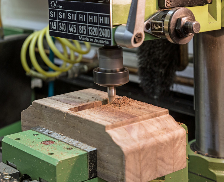 Wood Working with a Metal Working Milling Machine