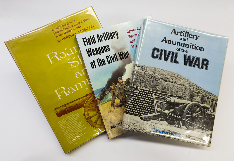 "If your in to field artillery weapons from the 1800's and earlier, and would like to further your knowledge on the subject, then I recommend you add these three books to your library. <br /> <br /> Two of them are out of print, although they can still be found if you look on Amazon. <br /> The first book is...'Round Shot and Rammers' by Harold L. Peterson.<br /> <br /> The second book is....'Artillery and Ammunition of the Civil War' by Warren Ripley.<br /> <br /> The third book 'Field Artillery Weapons of the Civil War' by James C. Hazelett, Edwin Olmstead, and M. Hume Parks is still available as a new revised publication.<br /> <br /> These three books are important to anyone that needs to do research on the subject of Artillery starting with the beginning of the Industrial Revolution, when anything and everything was tried in the manufacture and use of cannon.<br /> <br /> I reach for one of these books on a regular bases, and would be lost without them in my library.<br /> ""Round Shot and Rammers' in particular has wonderful illustrations with dimensions that make it easy for one to build scale models with the information provided."