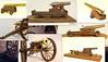 Model Civil War Cannons
