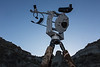 Telescope In Dinosaur Provincial Park
