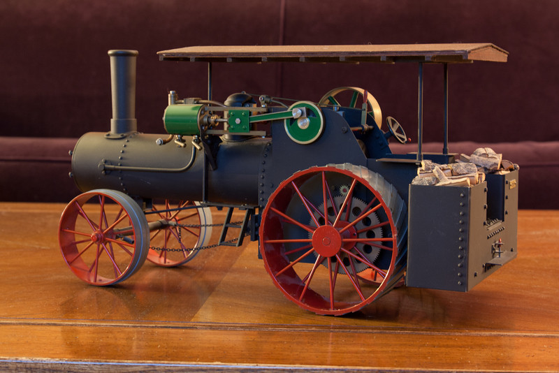 Miniature 65hp Case Steam Tractor