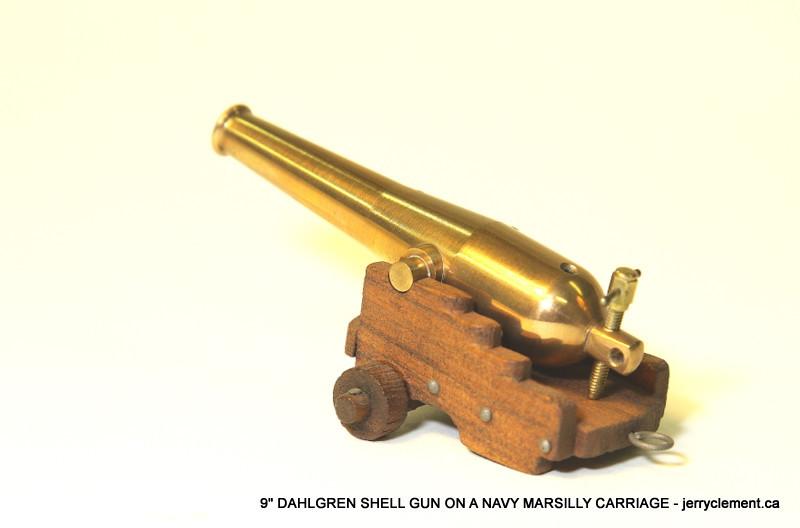 9 inch Dahlgren Shell Gun