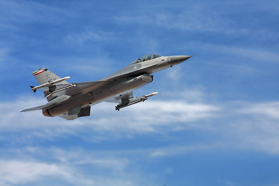 F-16 fly by