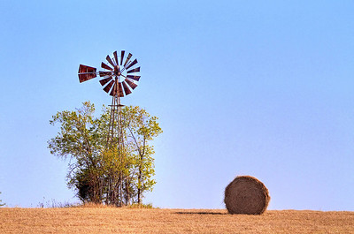 The Windmill Meets the Bale
