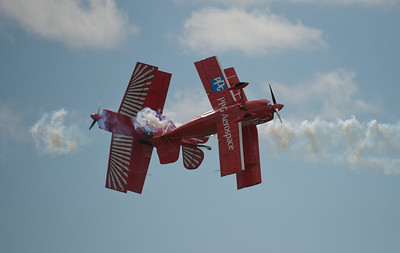 Red Eagle Air Sports' pilots Dan McClung and Buck Roetman