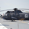 H-3 Sea King on the Flight Deck of the USS Yorktown.