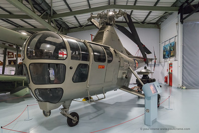 Westland Dragonfly Helicopter at the Fleet Air Arm Museum