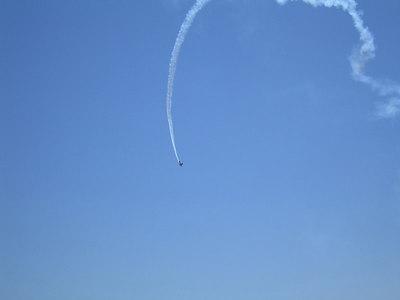 Stunt plane, Hemet-Ryan Airshow, 10 Jun 2006