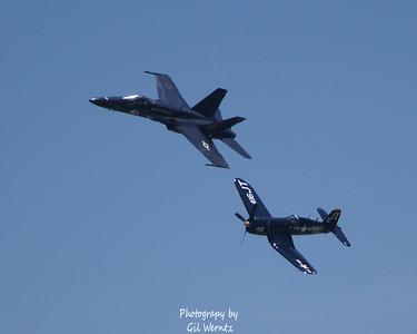 FA18 Hornet, F4U Corsair