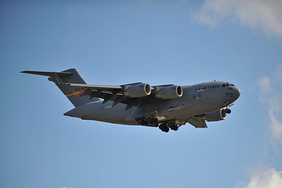 C-17 on final approach.