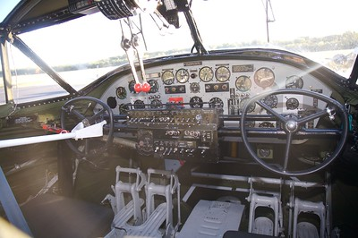 PBY cockpit