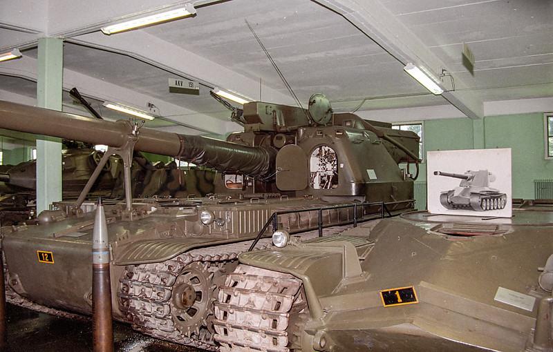 Artillerikanonvagn 151 Prototyp