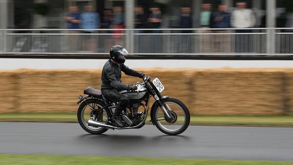 1948 Norton Daytona - Richard Blackburn - Goodwood Festival of Speed -  July 2019