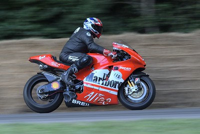 2006 Ducati GP6 Desmosedici Amdy Caddick Goodwood Festival of Speed 2017