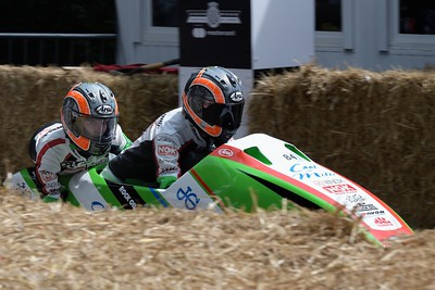 2017 LCR Kawasaki F2 - Maria Costello Kirsty Hauxwell - The Goodwood Festival of Speed 2017