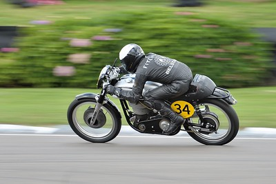 1951 Norton Manx - Duncan Fitchett - Barry Sheene Memorial Trophy at the 2016 Goodwood Revival