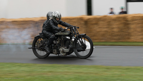 1924 Norton LPD1 sidecar - Goodwood Festival of Speed -  July 2019