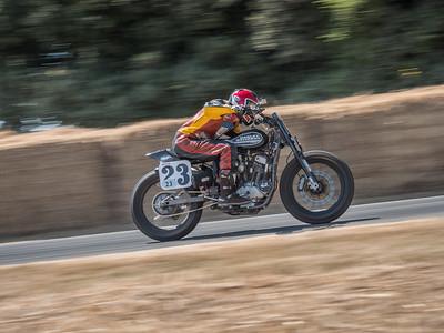 2018 Harley Davidson XR750 - Jeffrey Carver Jr -  Goodwood Festival of Speed 2018