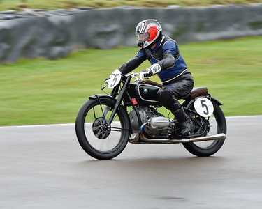 1936 BMW R5 Claus Ottilinger Lothar Singer - Barry Sheene Memorial Trophy at the 2016 Goodwood Revival