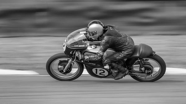 1962 Norton Manx 30M - Ian Bain - Goodwood Revival 2019