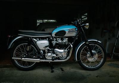 Triumph Bonnevile Fujicolor