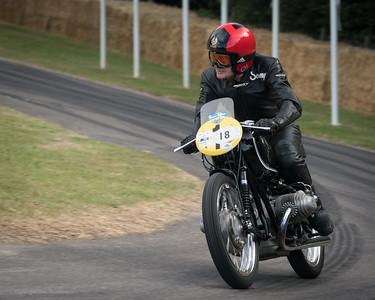 Sammy Miller BMW - Goodwood Festival of Speed -  July 2019