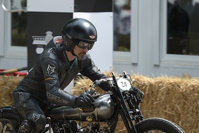 1924 Brough Superior KTOR Startline  Ian Bain - Goodwood Festival of Speed 2017