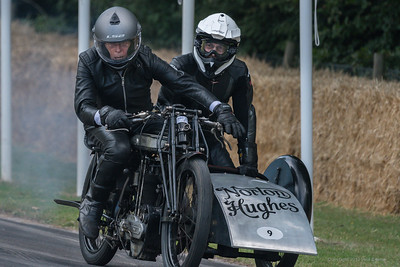 Norton LPD1 Sidecar Combination 1924 - Goodwood Festival of Speed -  July 2019