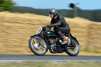 Velocette MT500 1936 497cc Single Cylinder Ivan Rhodes Festival of Speed 2014