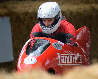 1951 Lambretta Siluro - Matteo Panini -  at the Goodwood Festival of Speed 2017