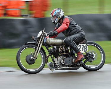 1926 Brough Superior SS100 R Ewan Cameroun Arthur Browning - Barry Sheene Memorial Trophy at the 2016 Goodwood Revival