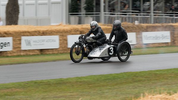 1924 Norton LPD1 Sidecar Combination - Goodwood Festival of Speed -  July 2019
