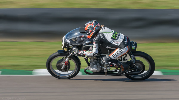 BMW RS54 Oskar Leibmann - Maria Costello - Out of the chicane - Goodwood Revival 2019