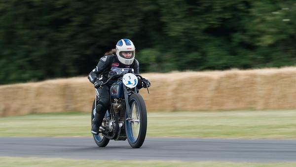 Lady Biker 5 - Goodwood Festival of Speed -  July 2019