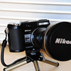 NIKON COOLPIX P5000 & TC-E3ED 378mm