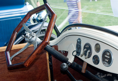 Interior Details of Buick