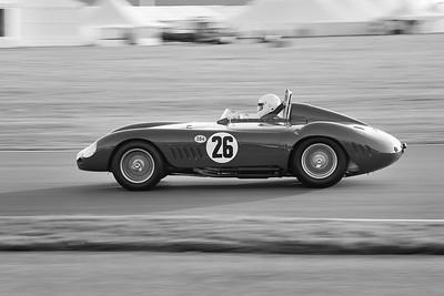 1955 Maserati 300S 2993cc Conrad Ulrich Julian Bronson BW
