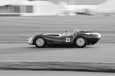 1959 Lister Jaguar Knobbly 3781cc Philip Keen BW