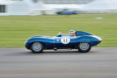 1956 Jaguar D Type Derek Bell