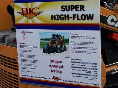 Super High Flow, ConExpo, Las Vegas, 3.08