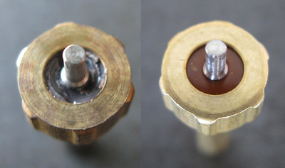 Shown left is the problem with my regulator.