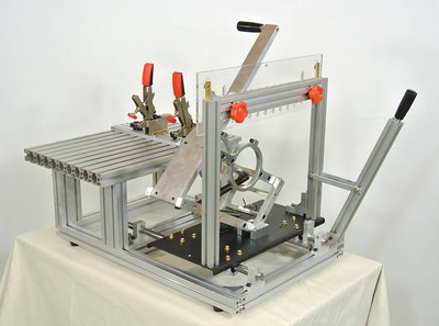 pre-built pantorouter machine, built by Kuldeep Singh, in Japan