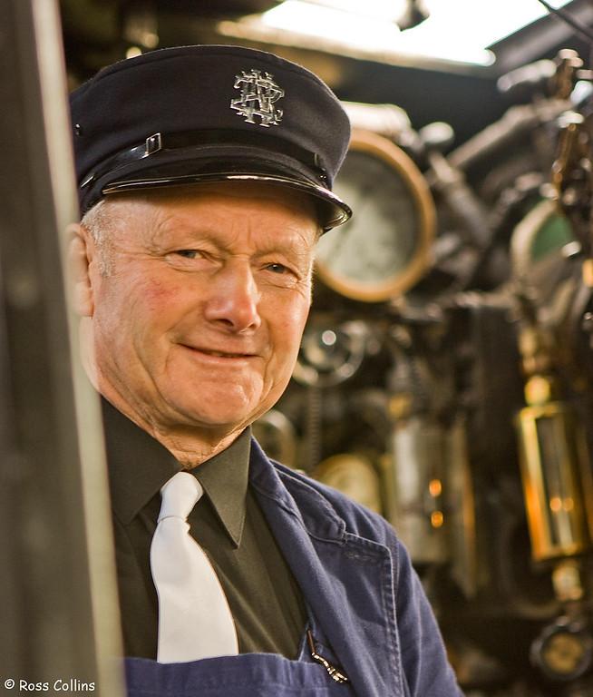 Daffodil Carnival Express, Steam Locomotive J1211, Wellington Station, 9 September 2007