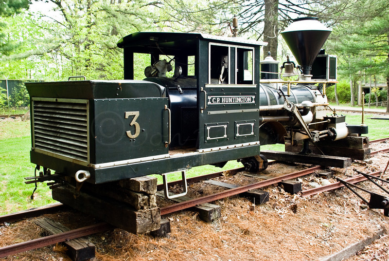 The C.P. HUNTINGTON 3<br /> <br /> Our older engine, undergoing repairs.