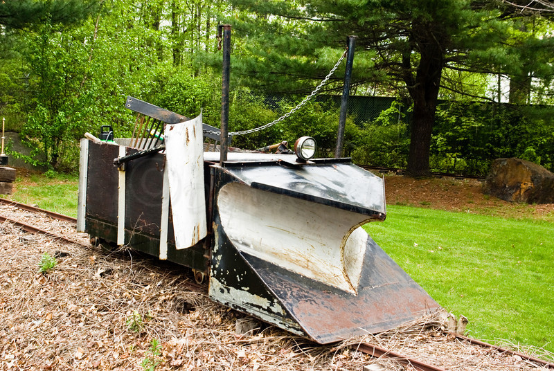 The Snow Plow for the tracks.